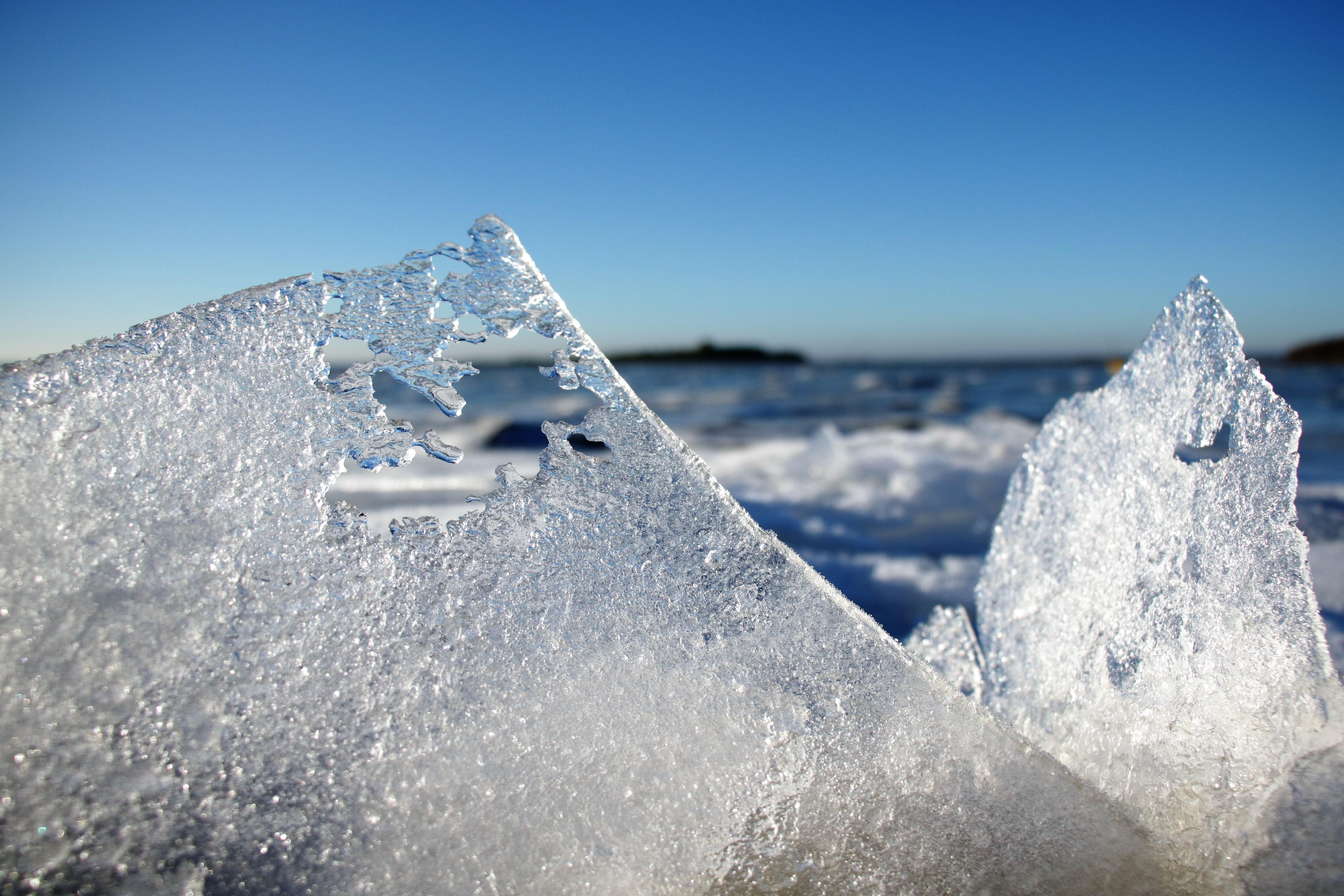 Vinterbadning i Nappedam